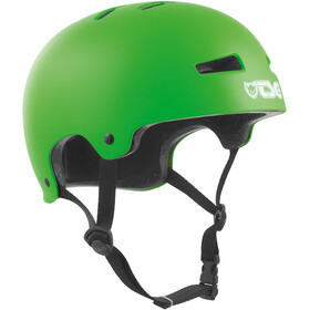 TSG Evolution Solid Color Helm satin-limegreen
